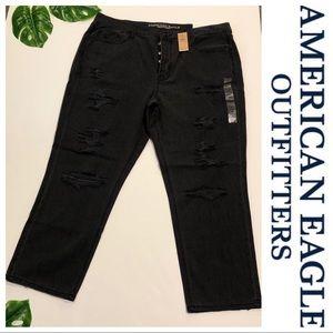 American Eagle vintage Hi-rise ankle jeans
